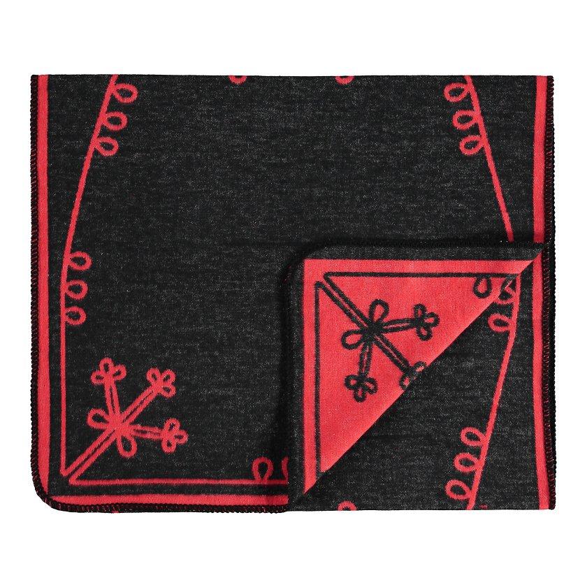 ac982ed795d Mulgi sall must/punane - Pleedid ja voodikatted - Magamistuba - Kodu