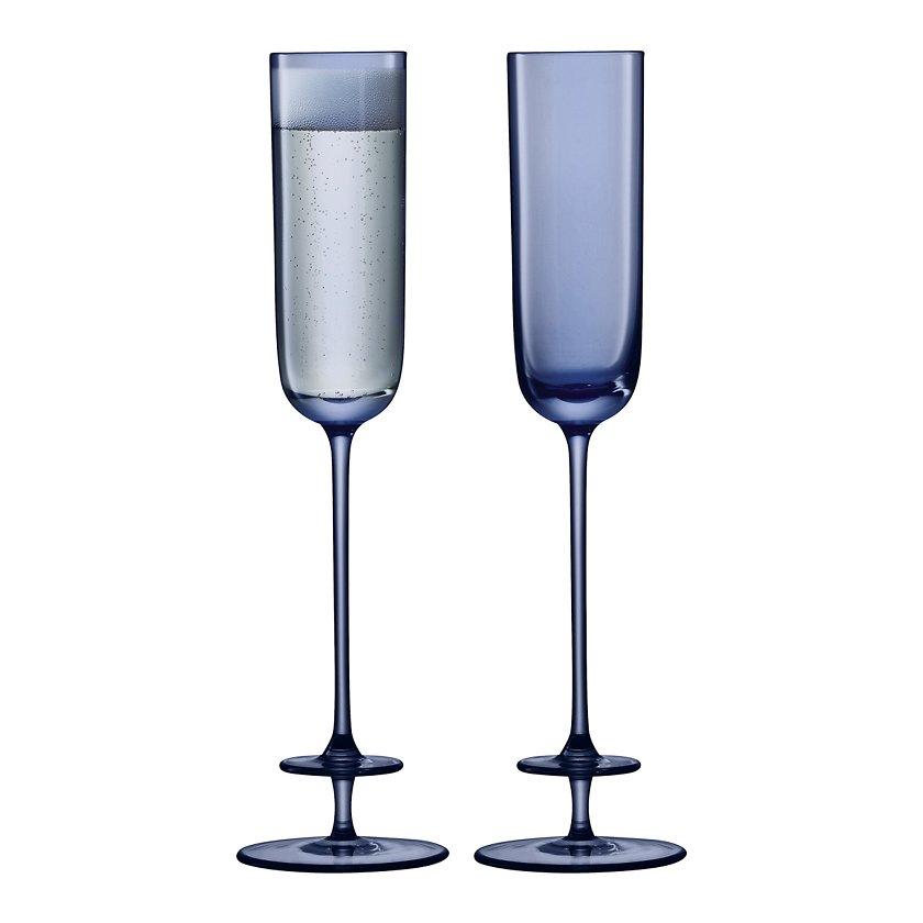 c6bb7d06fa1 Šampuseklaasid Champagne Theatre Flute Midnight blue 120ml 2tk -  Joogiklaasid - Söögituba - Kodu