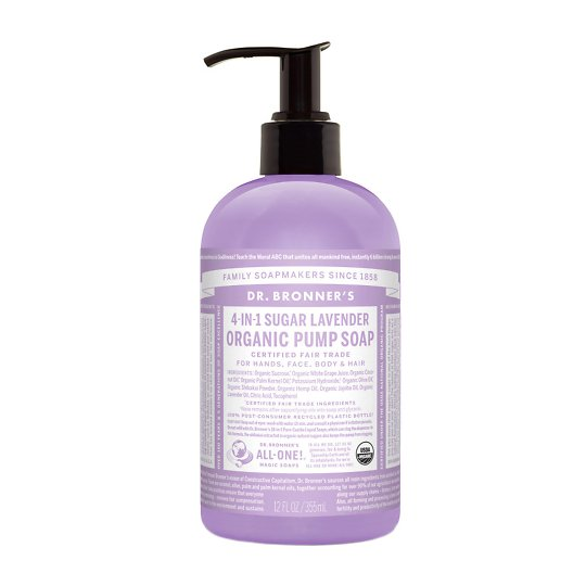 Orgaaniline suhkruseep lavendel 355ml