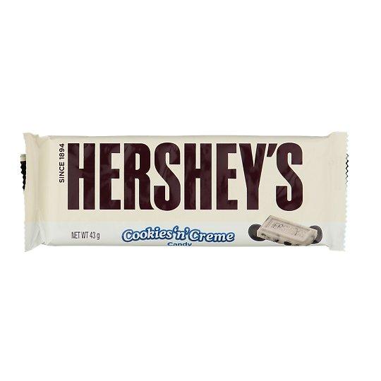 Šokolaad Hershey's Cookies n' Creme 43g