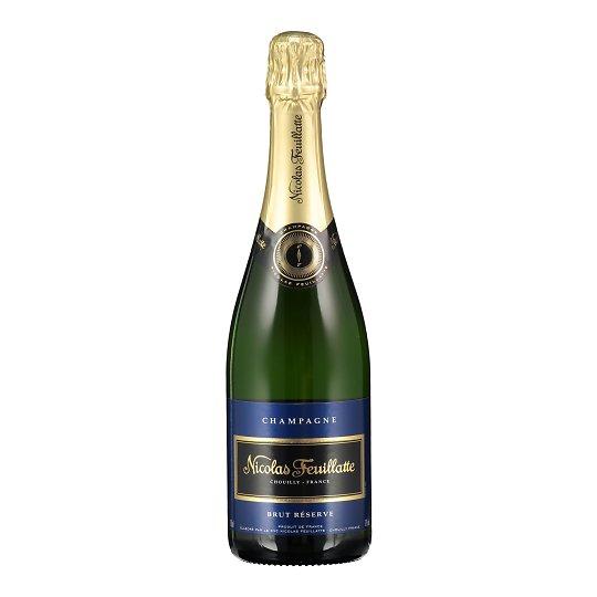 Nicolas Feuillatte Champagne Brut Reserve 75cl Prantsusmaa