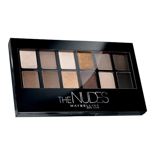 The Nudes lauvärvipalett