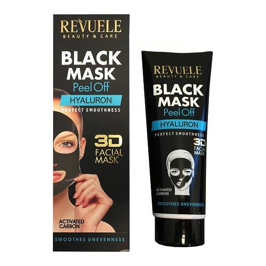 Must mask hüaluroonhappega 80ml