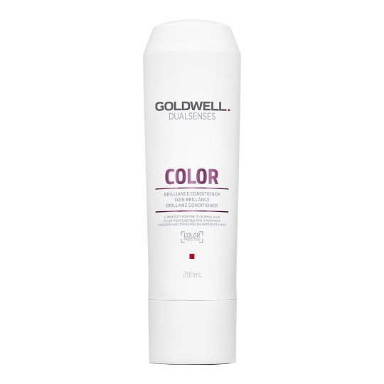 Dualsenses Color Brilliance Conditioner värvikaitsega läiget andev palsam õhukestele juustele 200ml