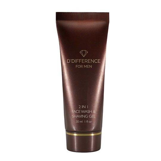 2in1 Face Wash & Shaving Gel näopesu-ja raseerimisgeel 30ml