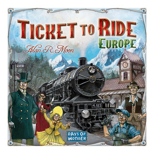 "Lauamäng ""Ticket to Ride Europe"""