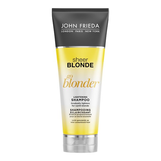 Sheer Blonde Go Blonder Lightening tooni heledamaks muutev šampoon 250ml