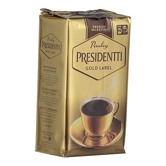 Kohv Presidentti Gold 500g
