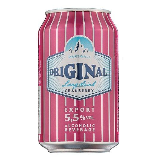 Original Long Drink Cranberry muu alkohoolne jook alk.5.5% 330ml Soome
