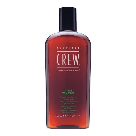 3in1 Tea Tree šampoon, palsam ja dušigeel 450ml