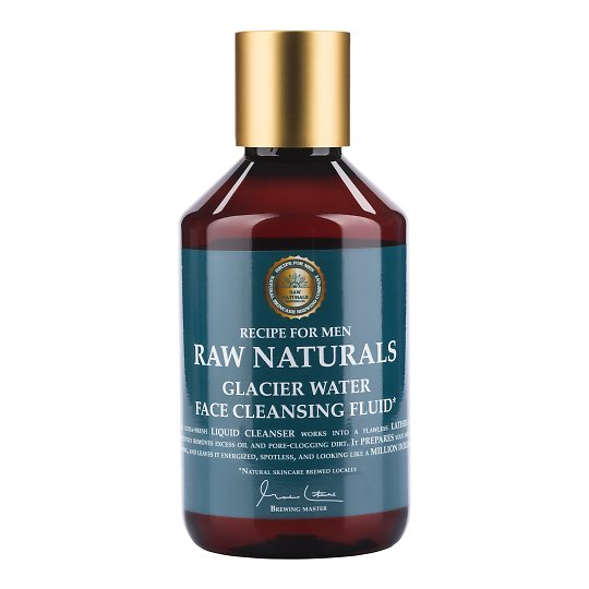 37b39c6d1b0 RECIPE FOR MEN Raw Naturals värskendav näopuhastusvedelik 250ml