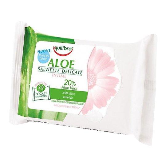 Aloe Intimate Hygiene Wipes hügieenilised intiimsalvrätid 12tk