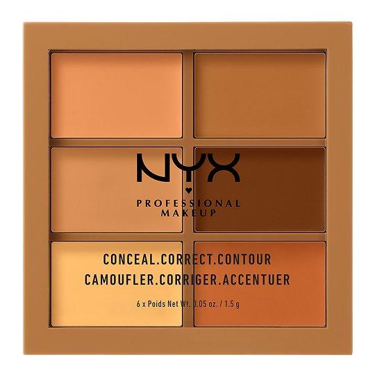 3c Palette - Conceal, Correct, Contour näopalett