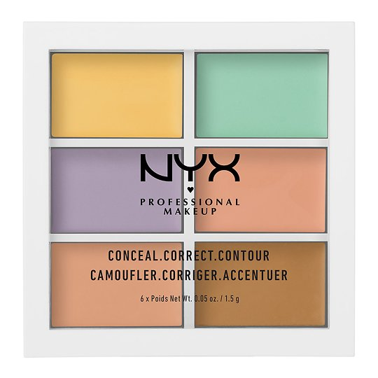 3c Palette - Color Correcting Concealer näopalett