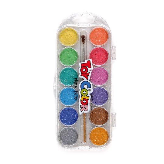 Vesivärvid 12 värvi koos pintsliga