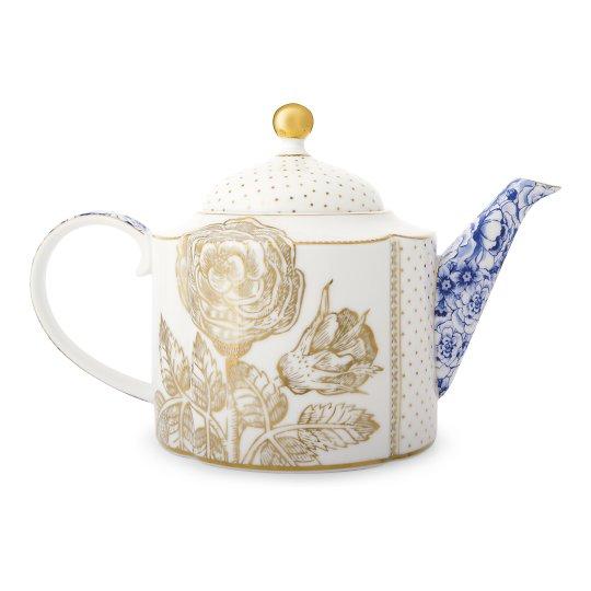 Teekann Royal White